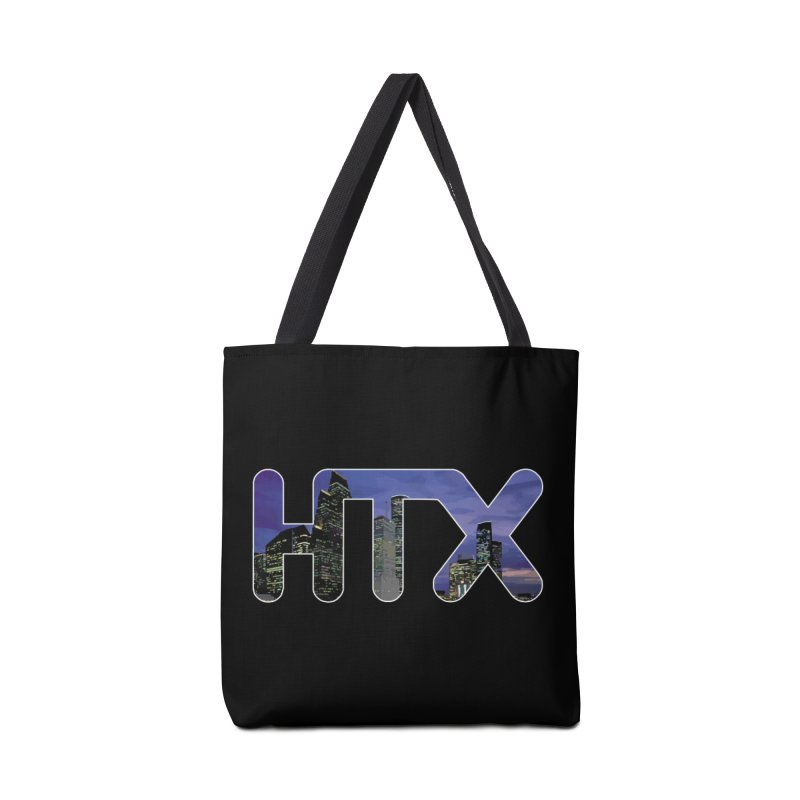 Houston HTX Accessories Bag by Tee Panic T-Shirt Shop by Muzehack