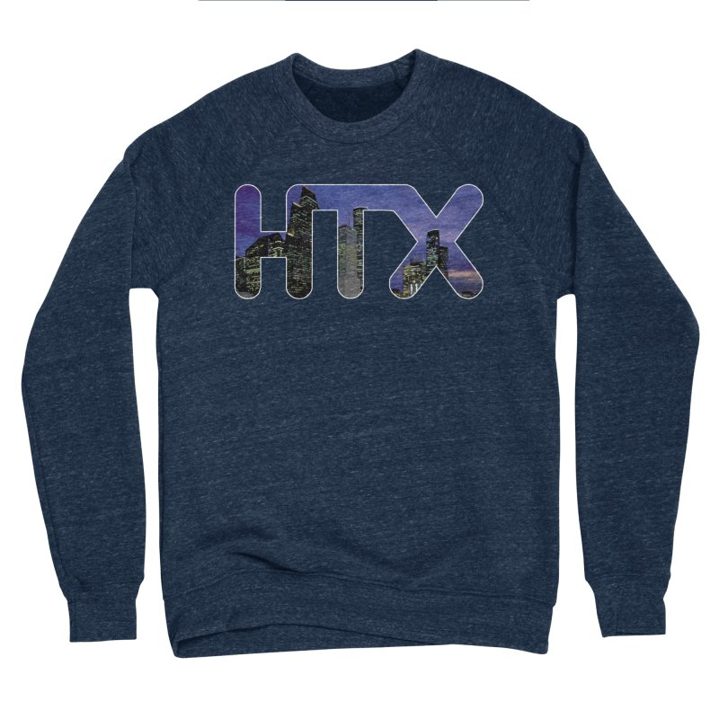 Houston HTX Women's Sponge Fleece Sweatshirt by Tee Panic T-Shirt Shop by Muzehack