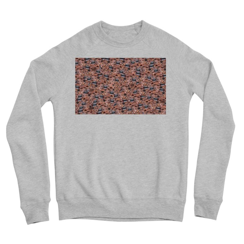 Trump Mouth Men's Sponge Fleece Sweatshirt by Tee Panic T-Shirt Shop by Muzehack
