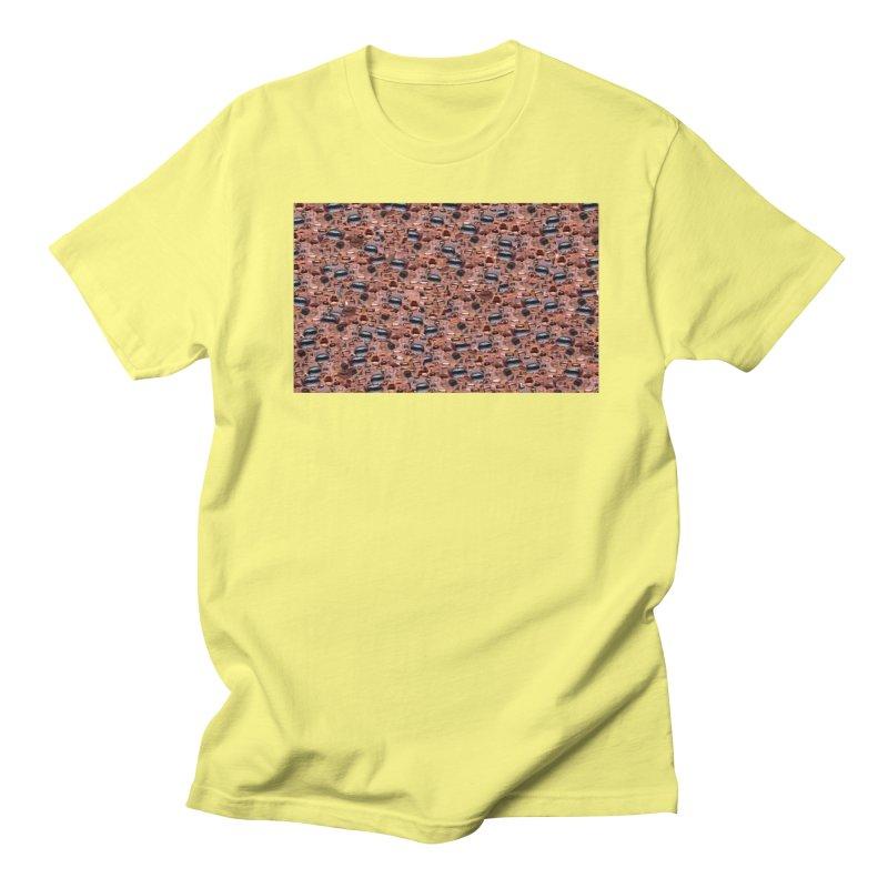 Trump Mouth Men's Regular T-Shirt by Tee Panic T-Shirt Shop by Muzehack