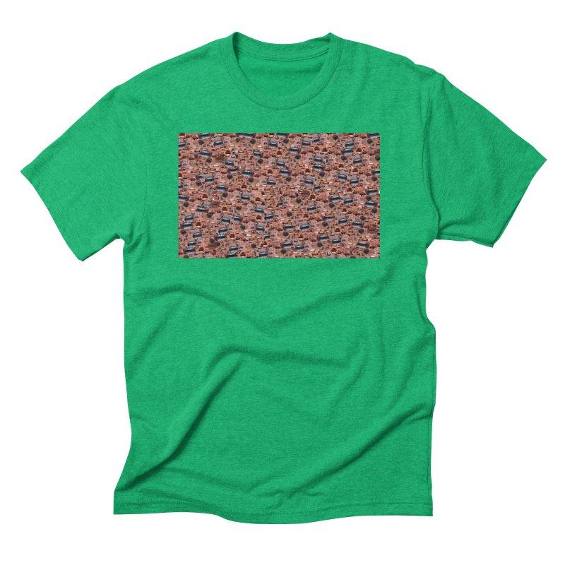 Trump Mouth Men's Triblend T-Shirt by Tee Panic T-Shirt Shop by Muzehack