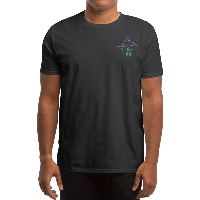 Countryside at night Men's T-Shirt by teeszone's Artist Shop