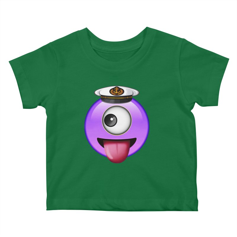Captain Teez Kids Baby T-Shirt by Teezinvaders