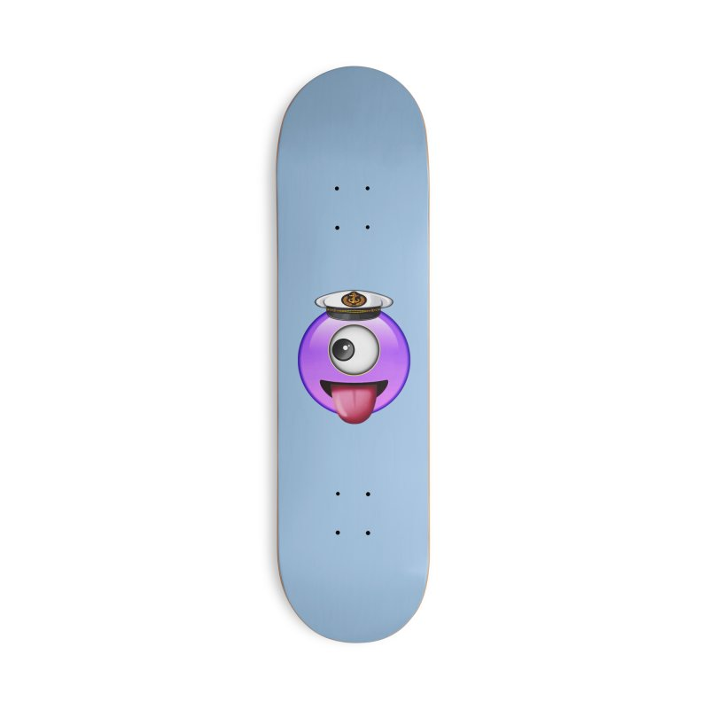 Captain Teez Accessories Skateboard by Teezinvaders