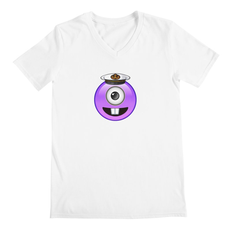 Captain Tooth Teez Men's V-Neck by Teezinvaders