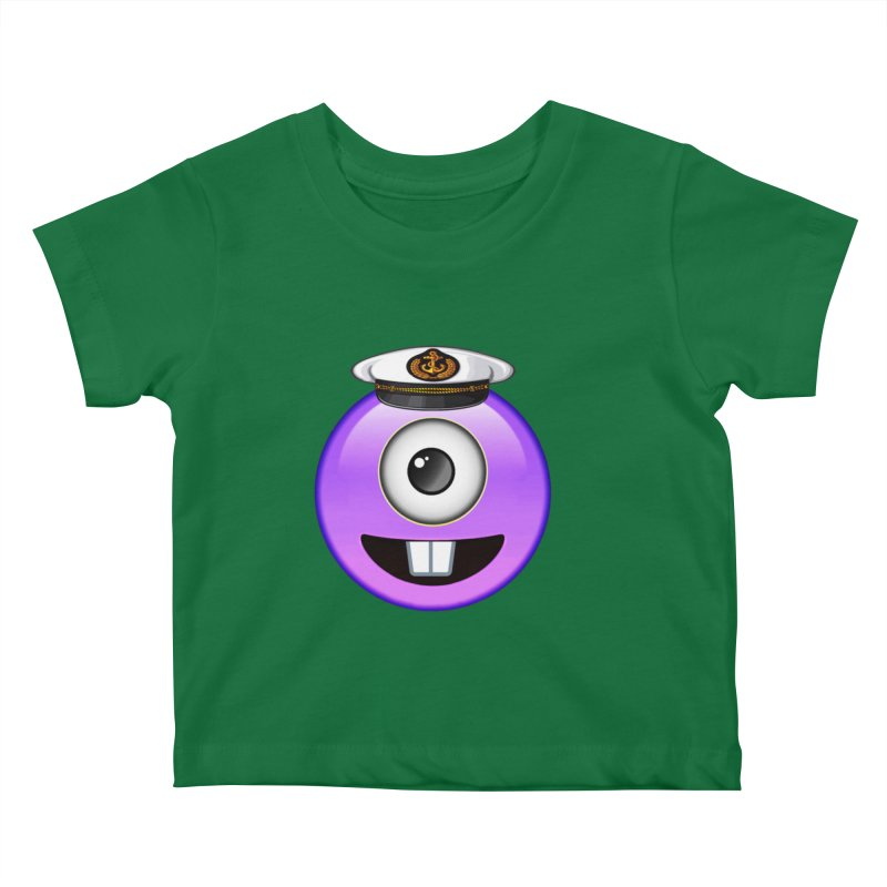 Captain Tooth Teez Kids Baby T-Shirt by Teezinvaders