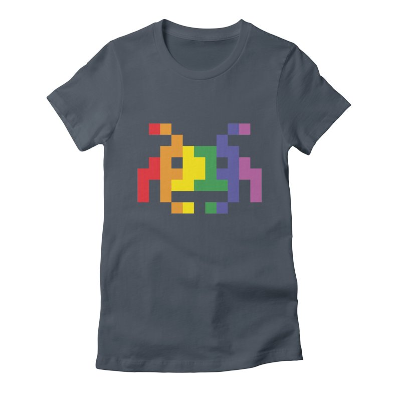 Space LGTB Teez Women's T-Shirt by Teezinvaders