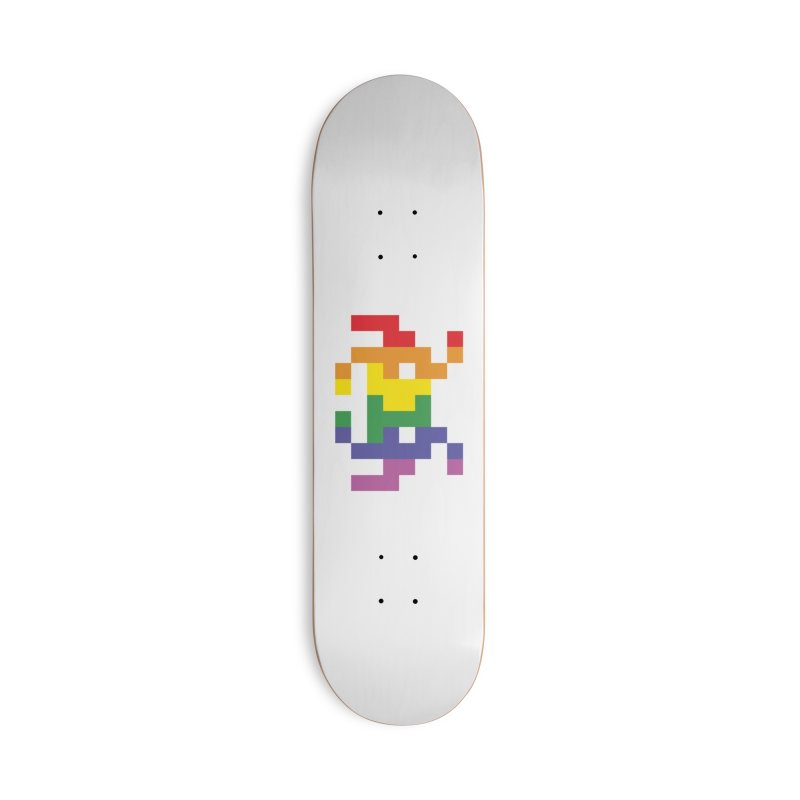 Space LGTB Teez Accessories Skateboard by Teezinvaders