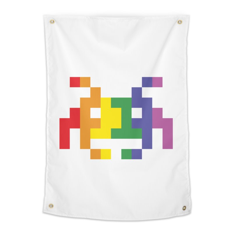 Space LGTB Teez Home Tapestry by Teezinvaders