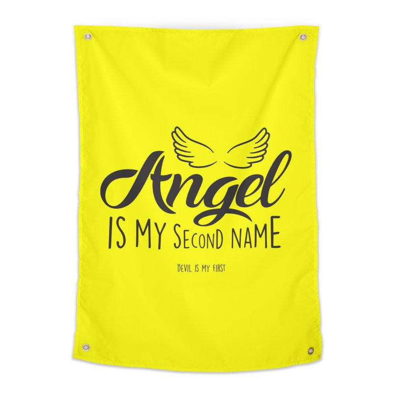 Angel & Devil Home Tapestry by Teezinvaders