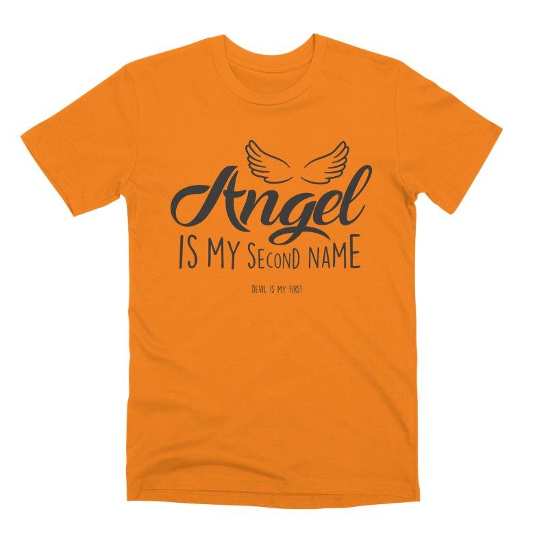 Angel & Devil Men's T-Shirt by Teezinvaders