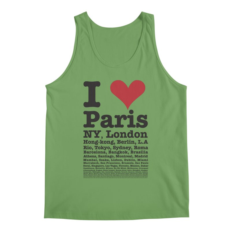 City Lover Men's Tank by Teezinvaders