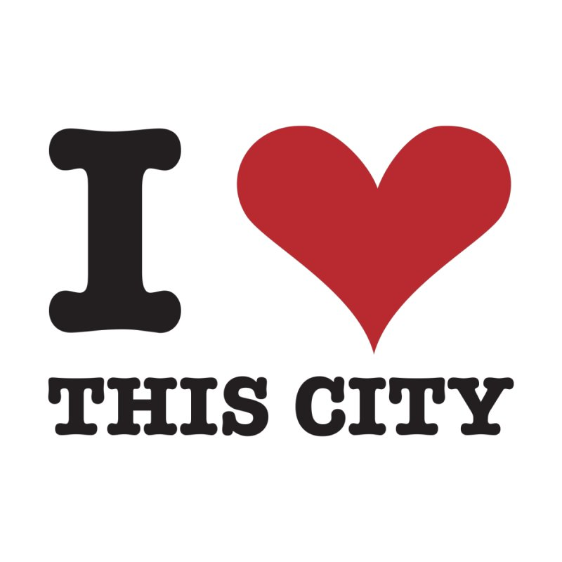 I Love This CIty Kids Baby T-Shirt by Teezinvaders