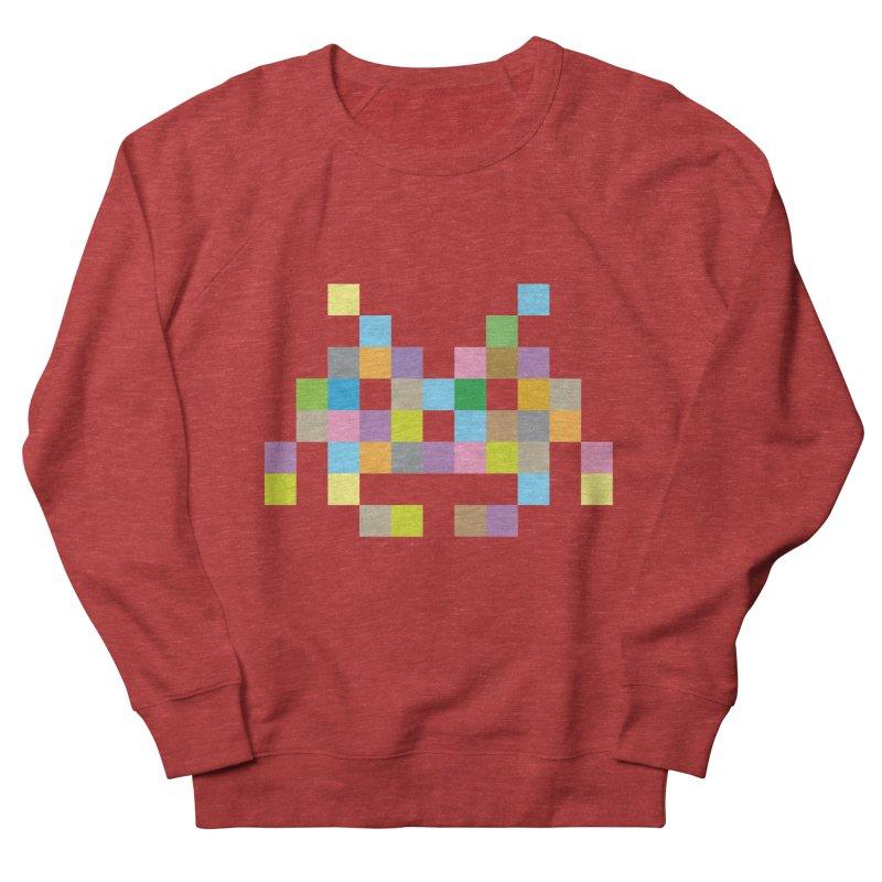 Pixel Face Women's Sweatshirt by Teezinvaders