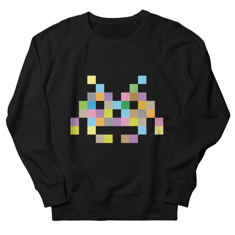 Pixel Face Women's Sweatshirt by Teezinvaders