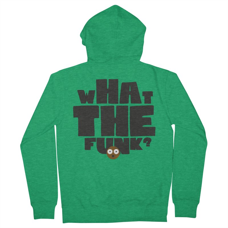 What The Funk? Men's Zip-Up Hoody by Teezinvaders