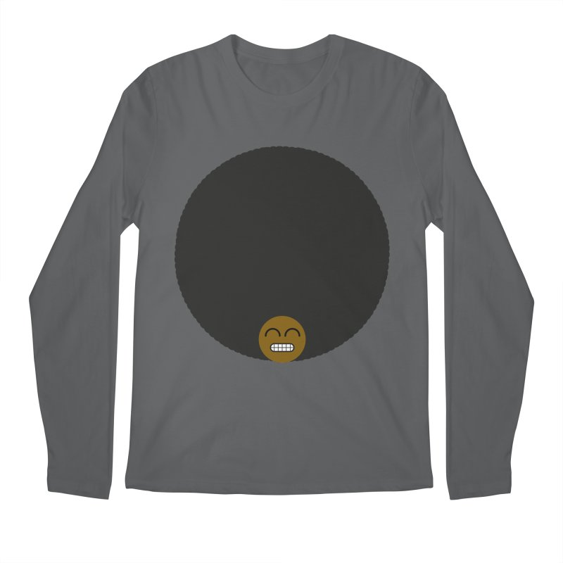 Afro Emoji Men's Longsleeve T-Shirt by Teezinvaders