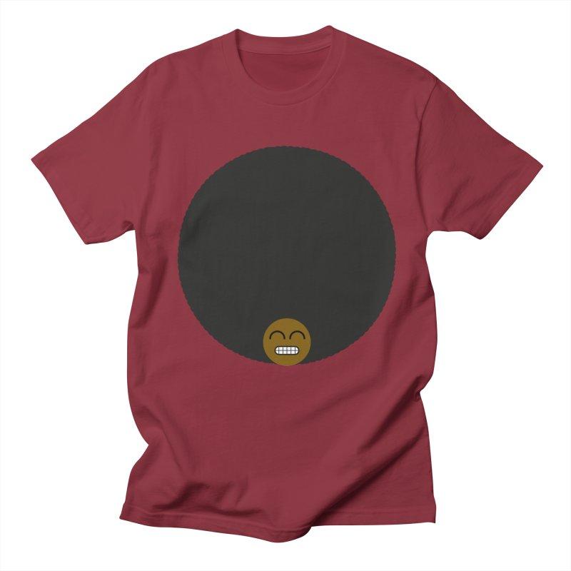 Afro Emoji Men's Regular T-Shirt by Teezinvaders