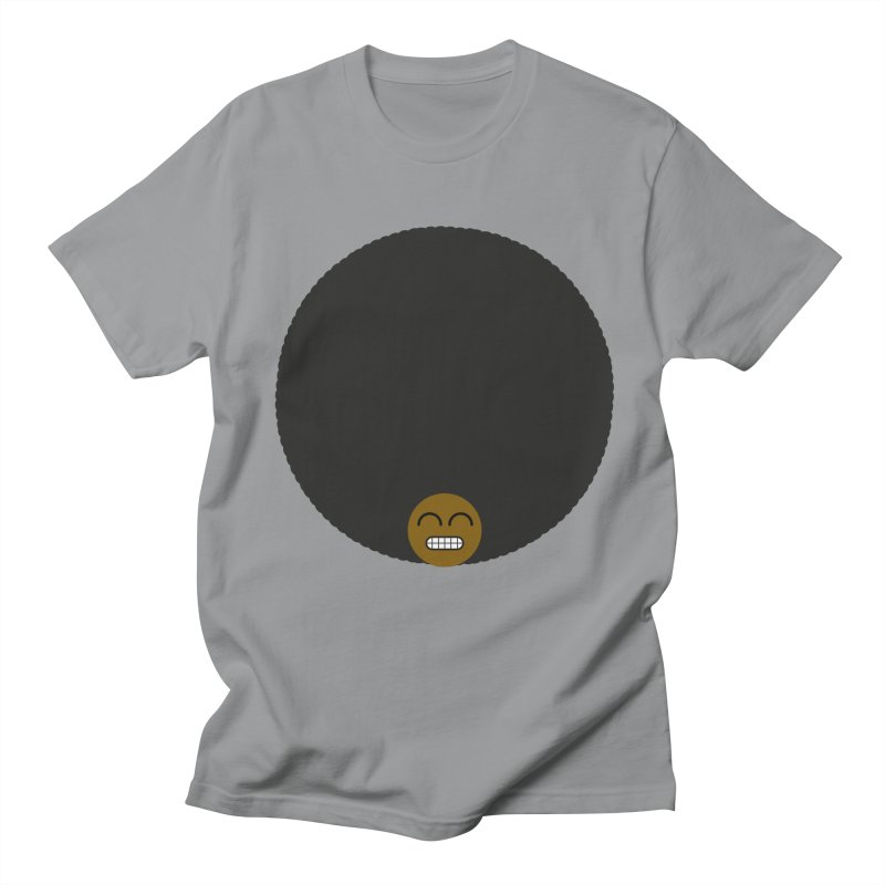 Afro Emoji Men's Regular T-Shirt by Teezinvaders