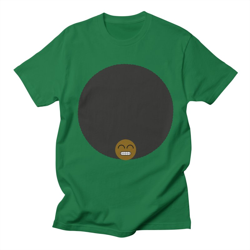 Afro Emoji Men's T-Shirt by Teezinvaders