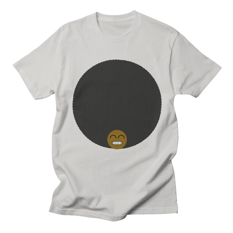 Afro Emoji Men's T-shirt by Teezinvaders