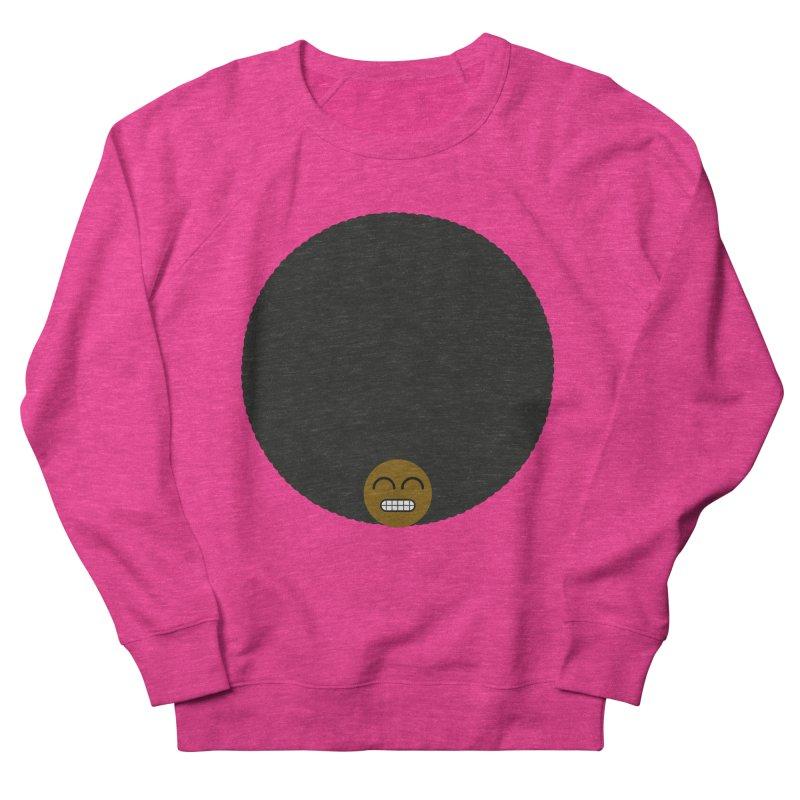 Afro Emoji Women's Sweatshirt by Teezinvaders