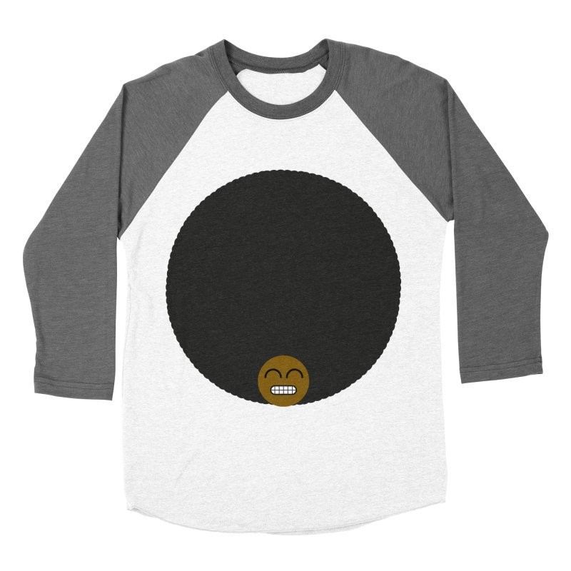 Afro Emoji Women's Longsleeve T-Shirt by Teezinvaders