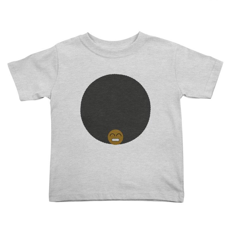 Afro Emoji Kids Toddler T-Shirt by Teezinvaders