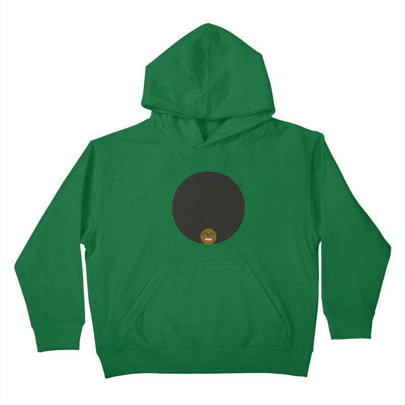 Afro Emoji Kids Pullover Hoody by Teezinvaders