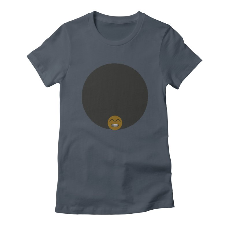 Afro Emoji Women's T-Shirt by Teezinvaders