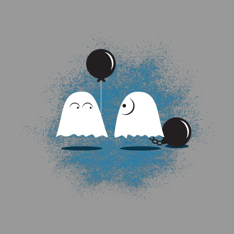Lazy Ghost by Teezinvaders