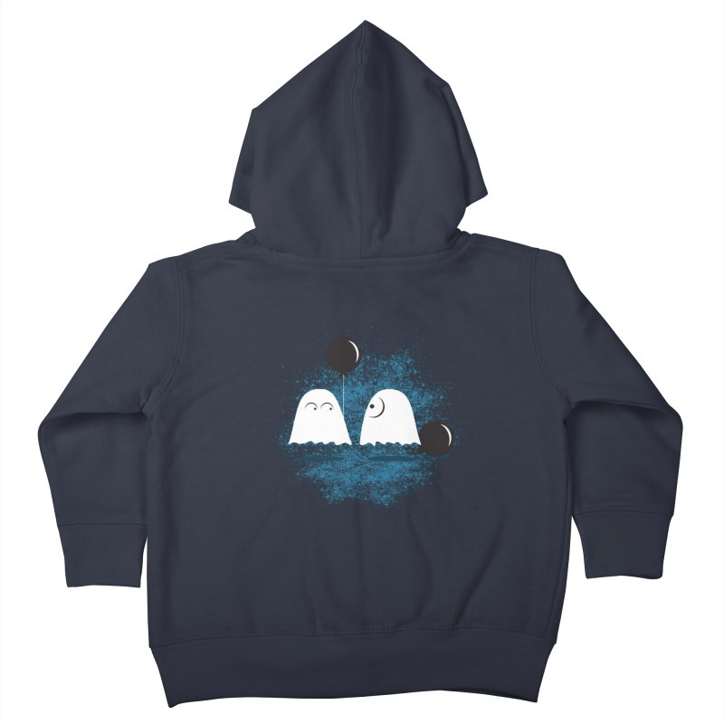 Lazy Ghost Kids Toddler Zip-Up Hoody by Teezinvaders