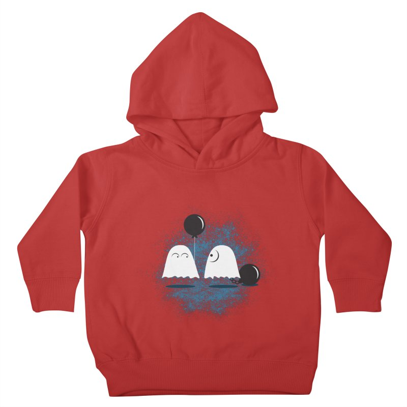 Lazy Ghost Kids Toddler Pullover Hoody by Teezinvaders