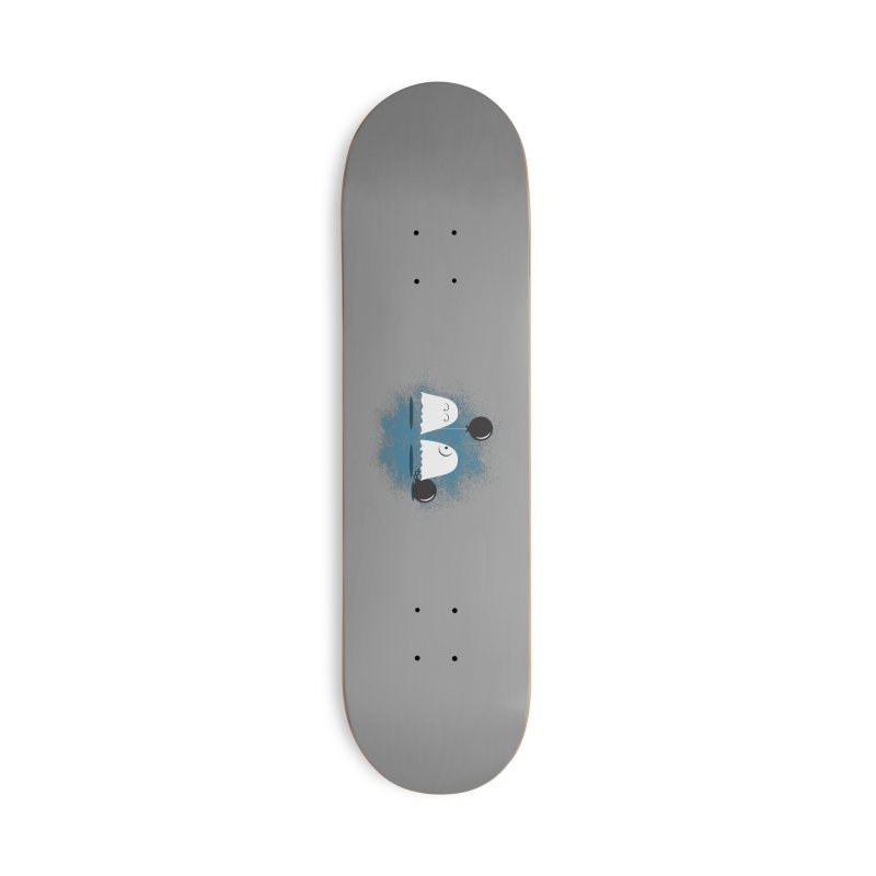 Lazy Ghost Accessories Skateboard by Teezinvaders