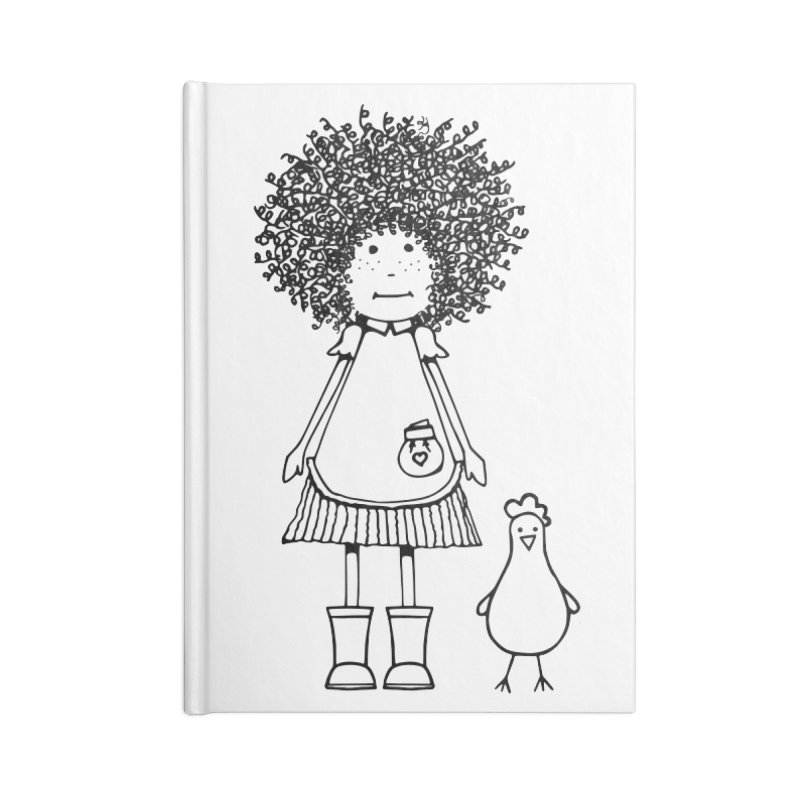 rose and the silly chicken Accessories Notebook by