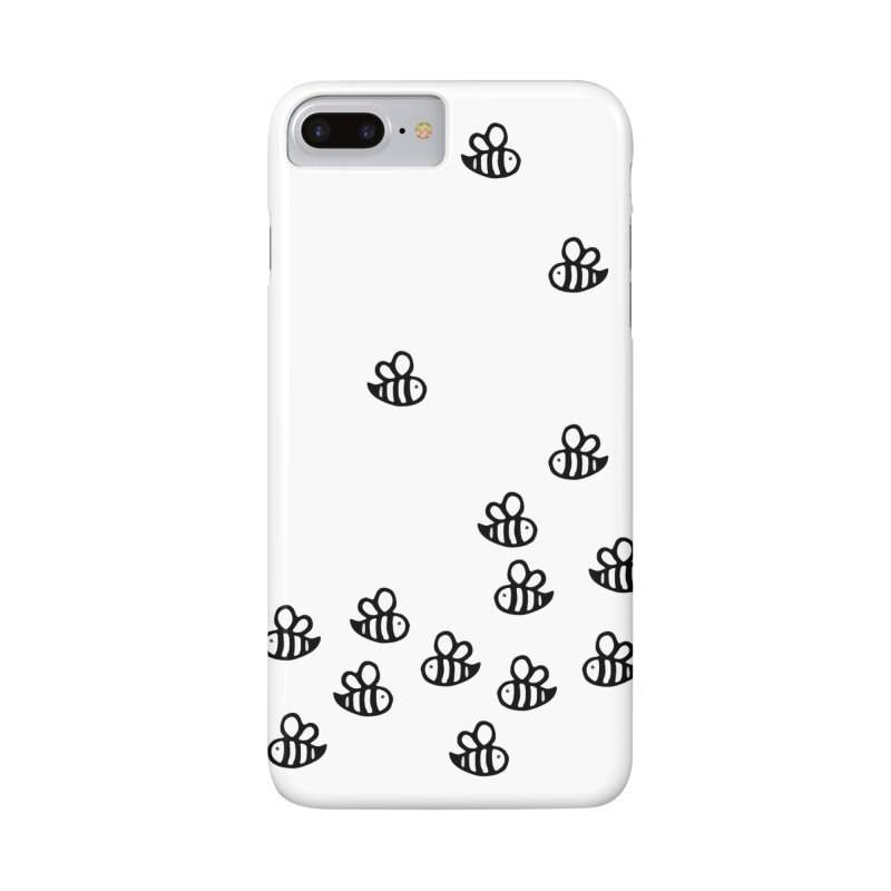 bumble bees in iPhone 8 Plus Phone Case Slim by