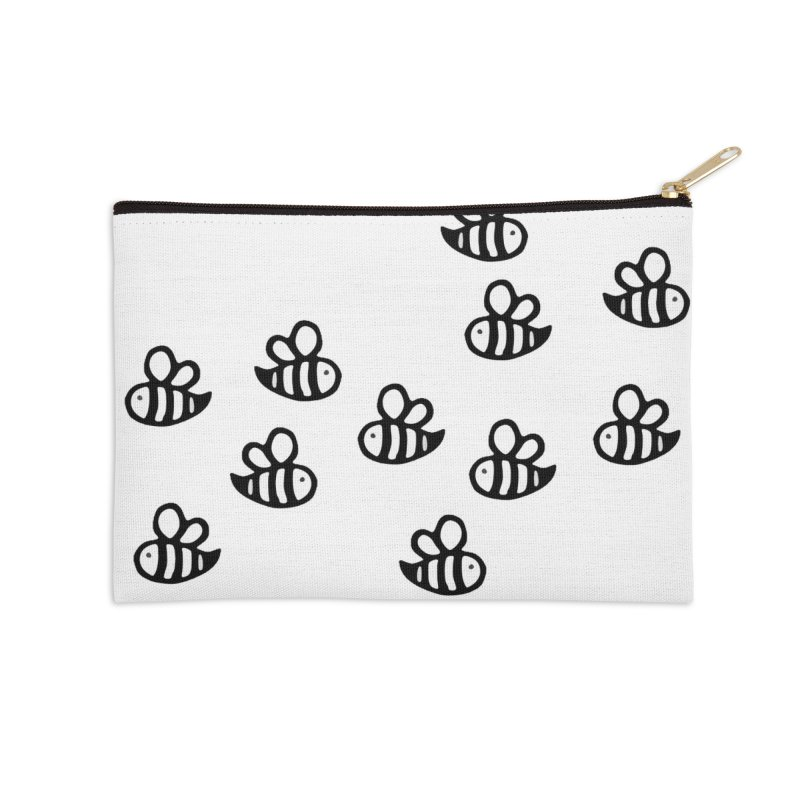 bumble bees in Zip Pouch by