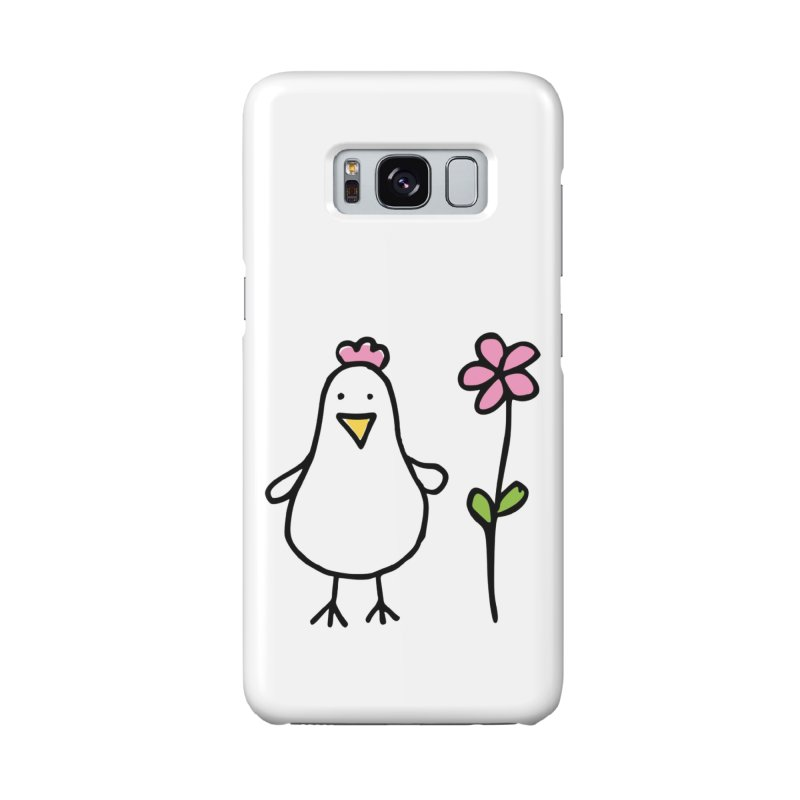 chicken in pink Accessories Phone Case by