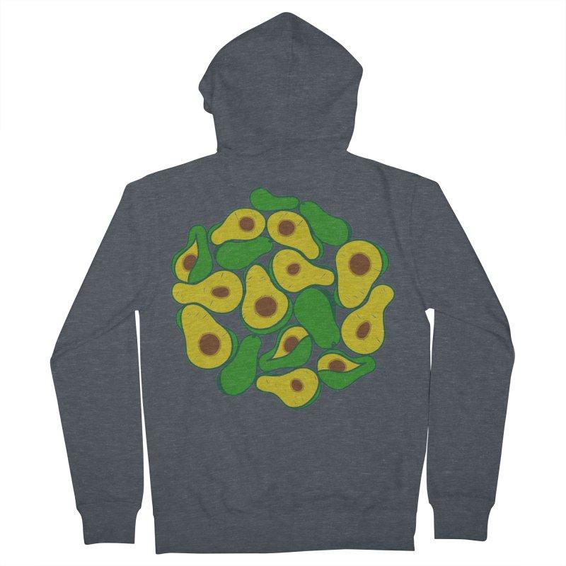 Avocado Lover Men's Zip-Up Hoody by Tejedor shop