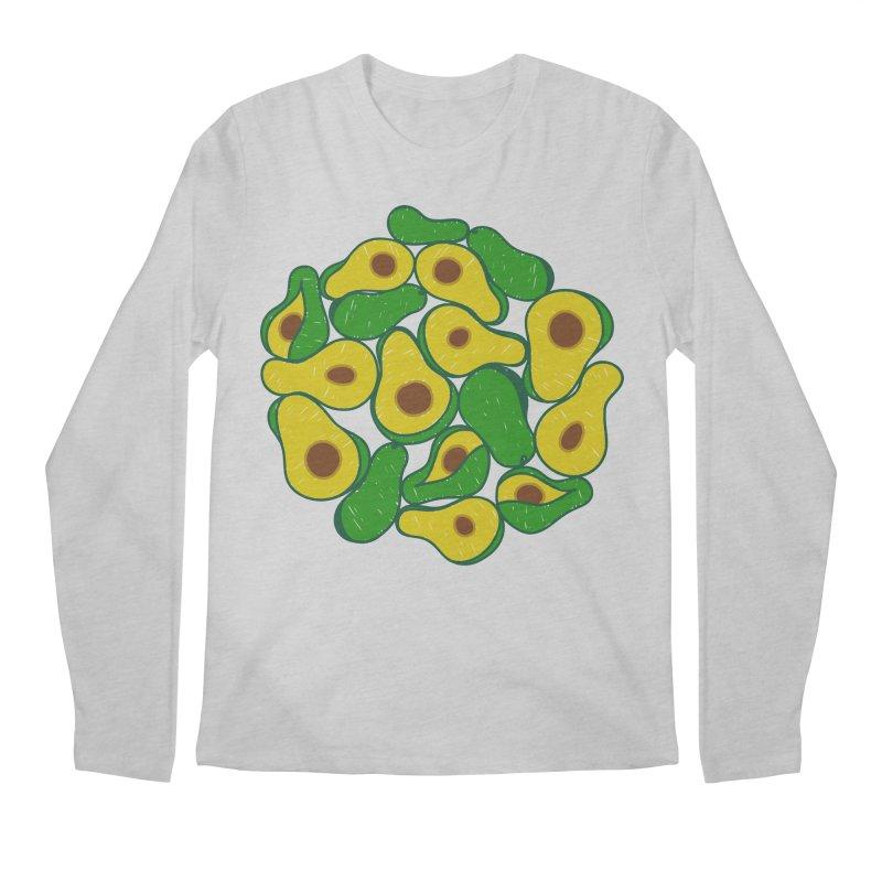 Avocado Lover Men's Longsleeve T-Shirt by Tejedor shop