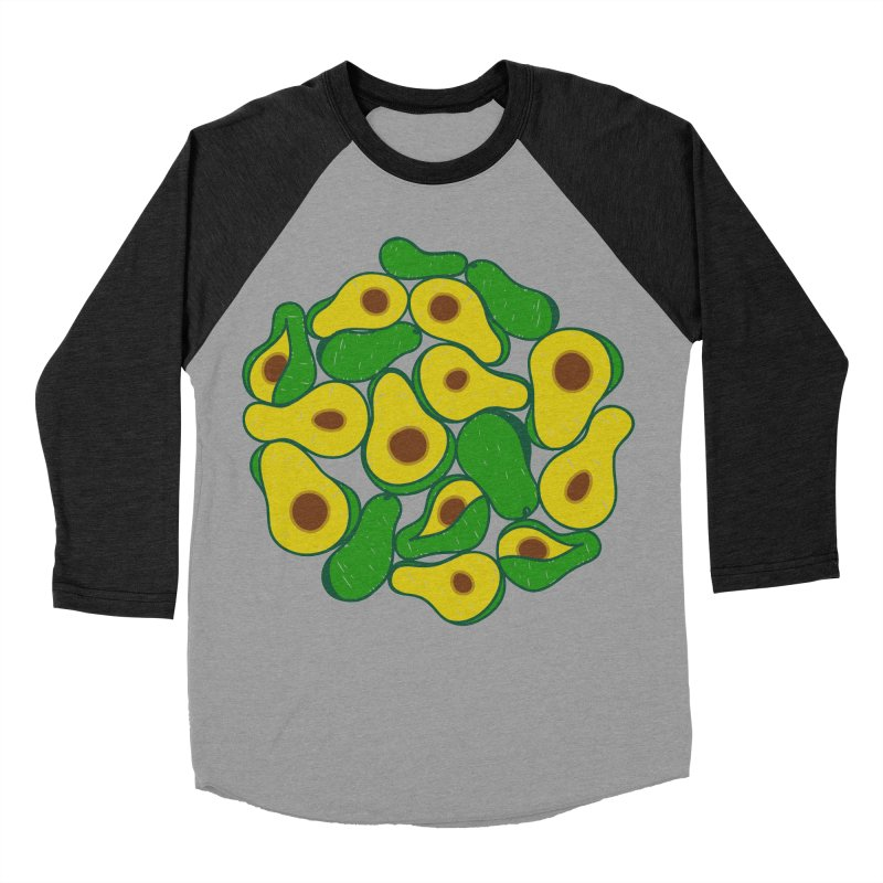 Avocado Lover Women's Baseball Triblend T-Shirt by Tejedor shop