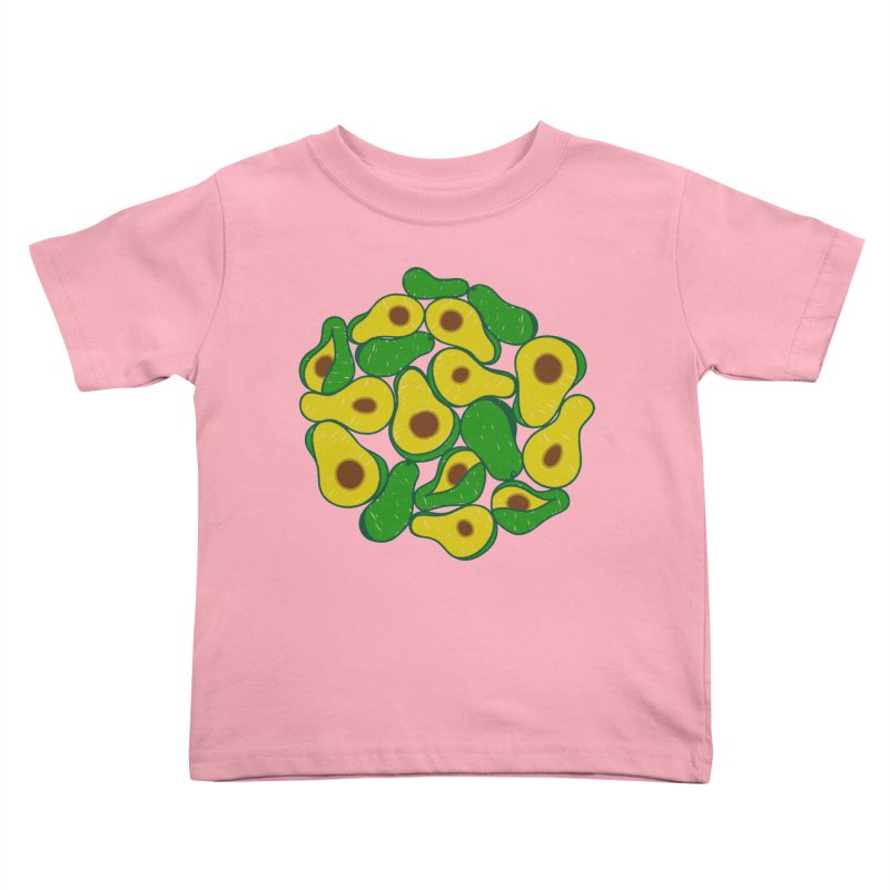 Avocado Lover Kids Toddler T-Shirt by Tejedor shop