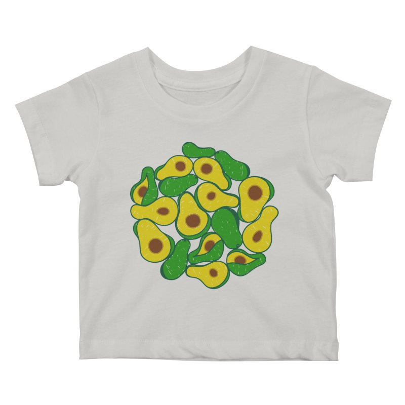 Avocado Lover Kids Baby T-Shirt by Tejedor shop