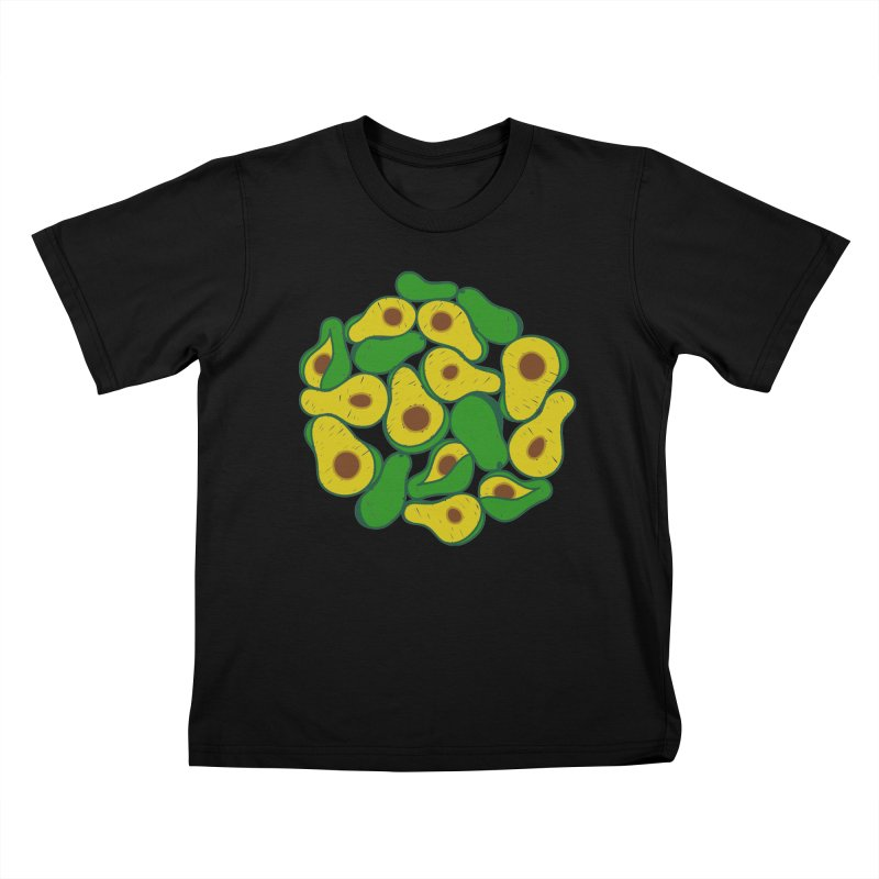 Avocado Lover Kids T-shirt by Tejedor shop