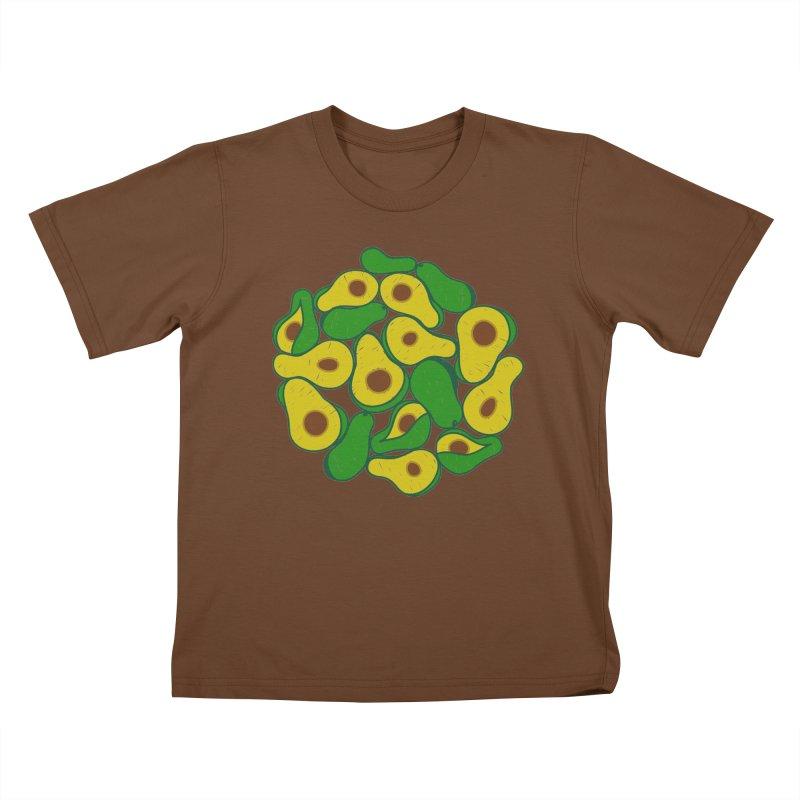 Avocado Lover Kids T-Shirt by Tejedor shop