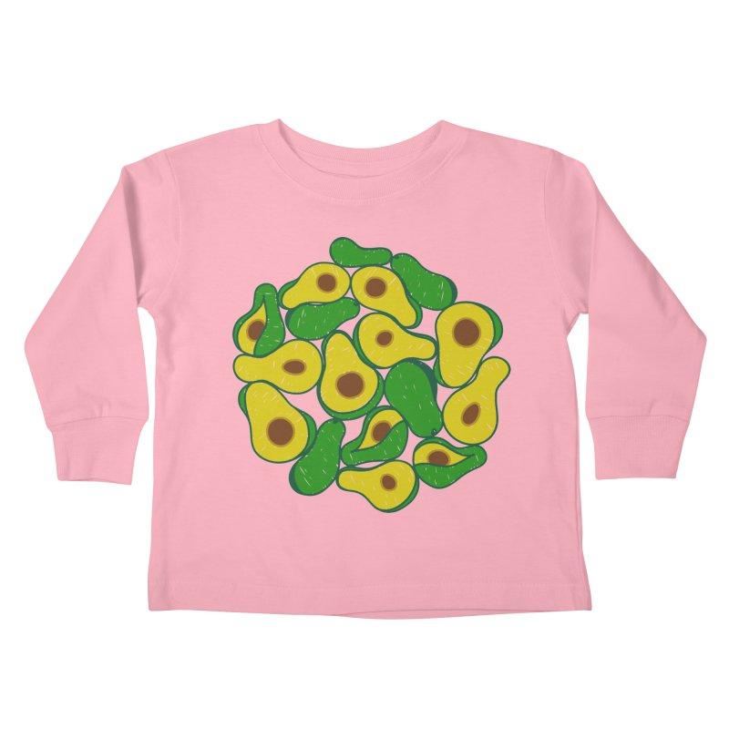 Avocado Lover Kids Toddler Longsleeve T-Shirt by Tejedor shop