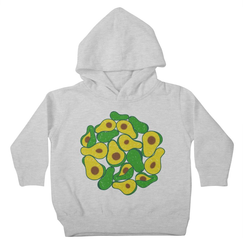 Avocado Lover Kids Toddler Pullover Hoody by Tejedor shop