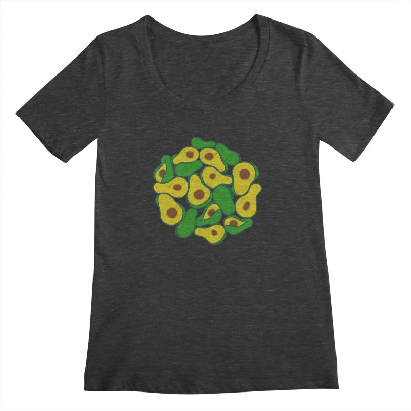 Avocado Lover Women's Scoopneck by Tejedor shop