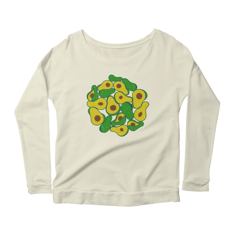 Avocado Lover Women's Longsleeve Scoopneck  by Tejedor shop