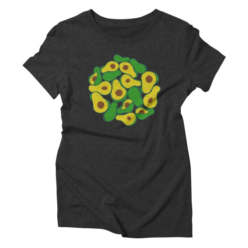 Avocado Lover Women's Triblend T-Shirt by Tejedor shop